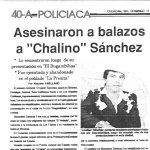 Muerte De Chalino Sanchez