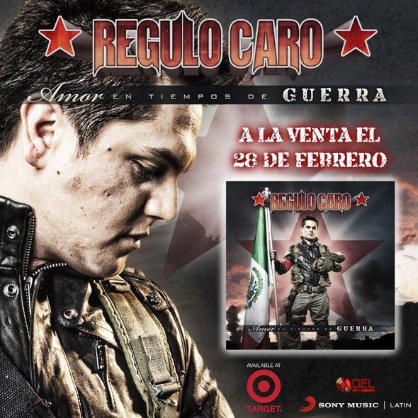 DESCARGAR: REGULO CARO - AMOR EN TIEMPOS DE GUERRA DISCO OFICIAL 2012