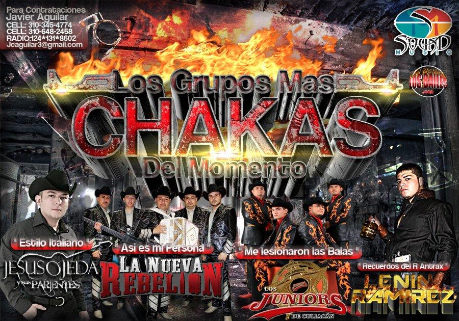 Los Grupos Mas Chakas