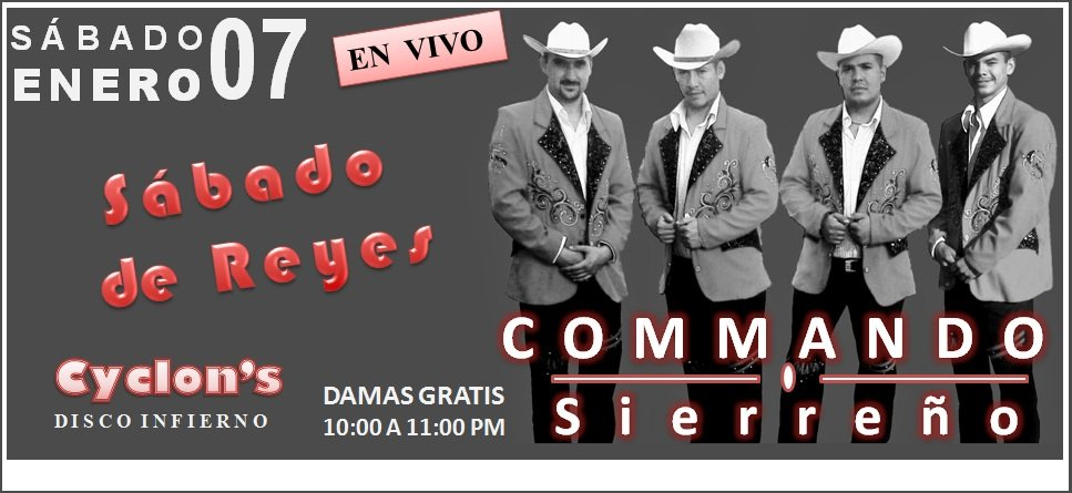 Commando en vivo!!!!