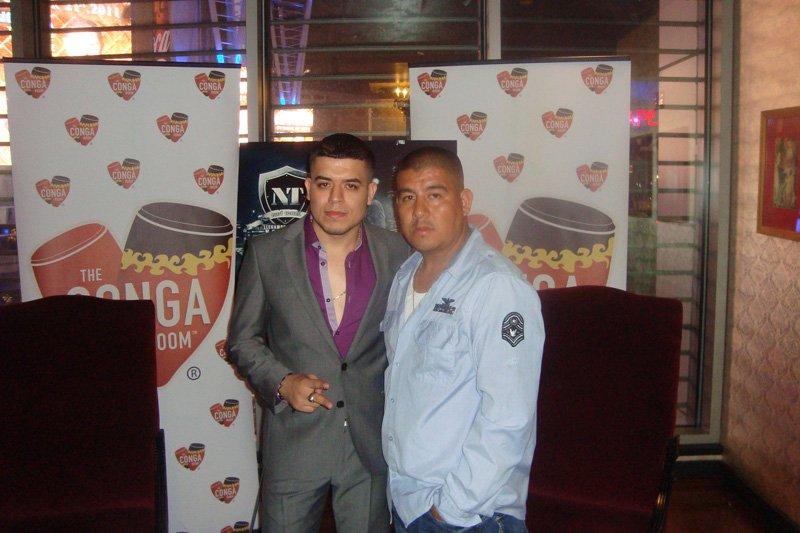Noel Torres con El Gallero