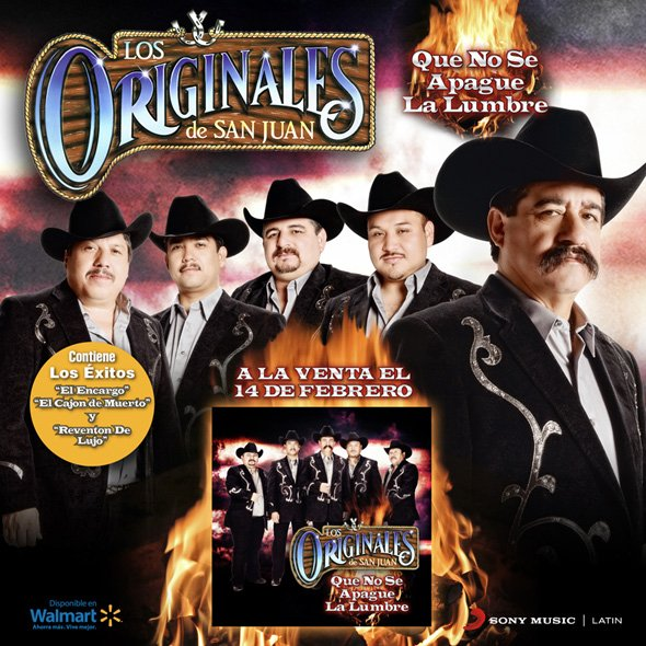 Promocion Nuevo Disco de Los Originales de San Juan