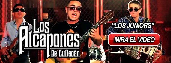 Los Alcapones De Culiacan - Los Juniors HD 2013 Video Oficial